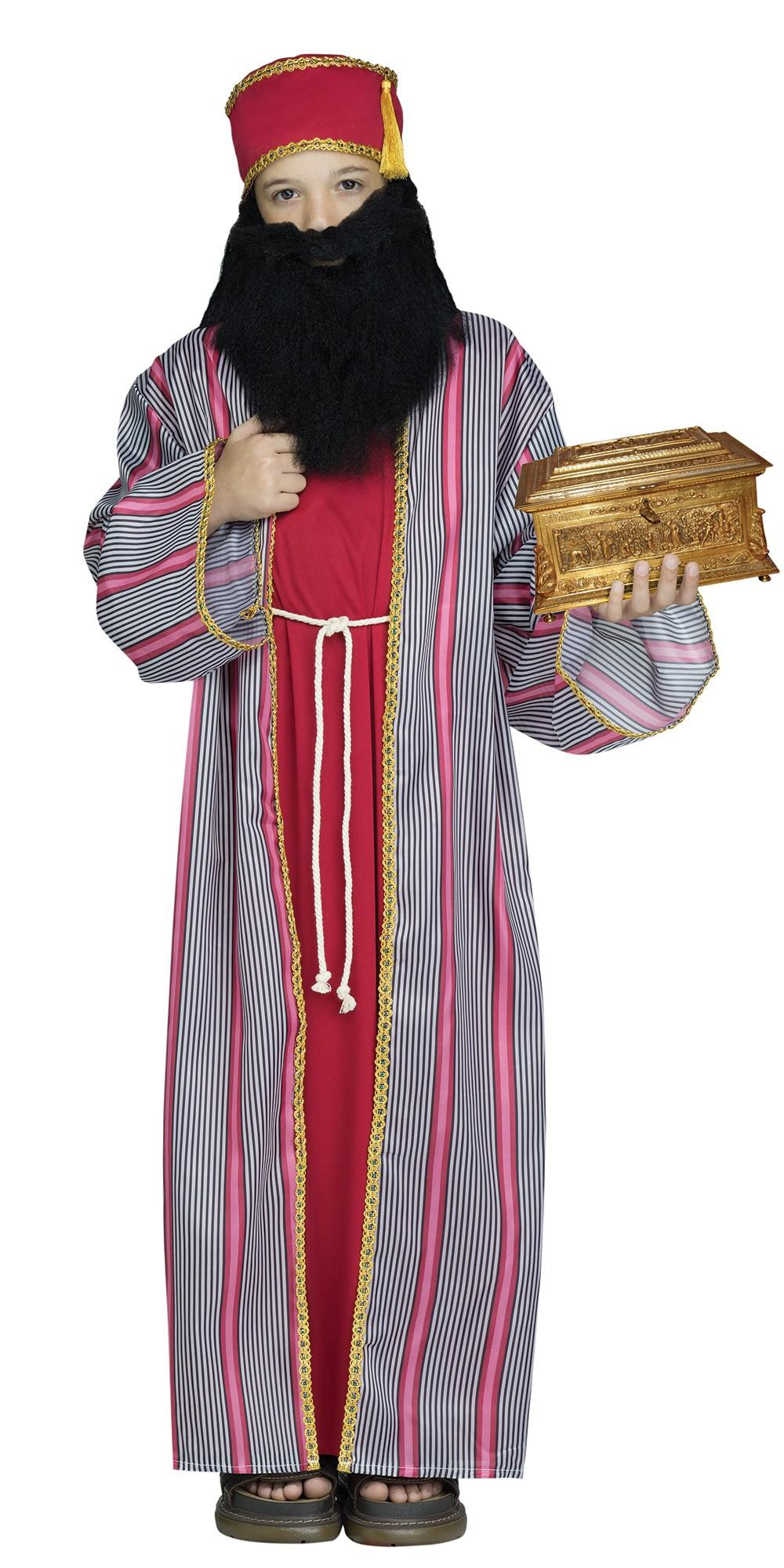 Red Wise Man Boy's Costume