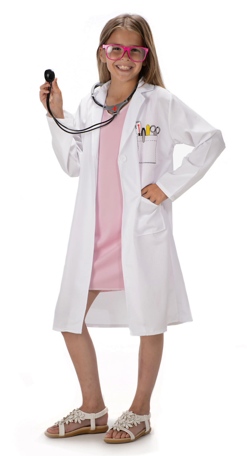 df09ff9e561 Doctor Girls Costume
