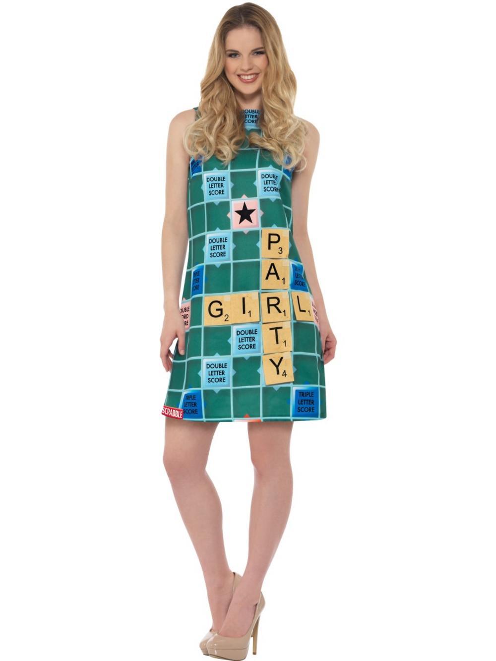 Scrabble Costume