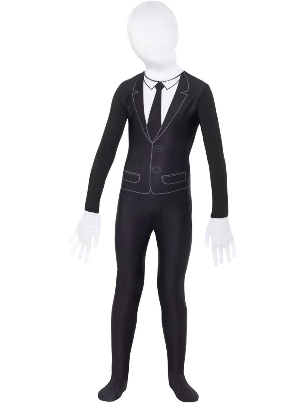 Supernatural Slenderman Boy Costume