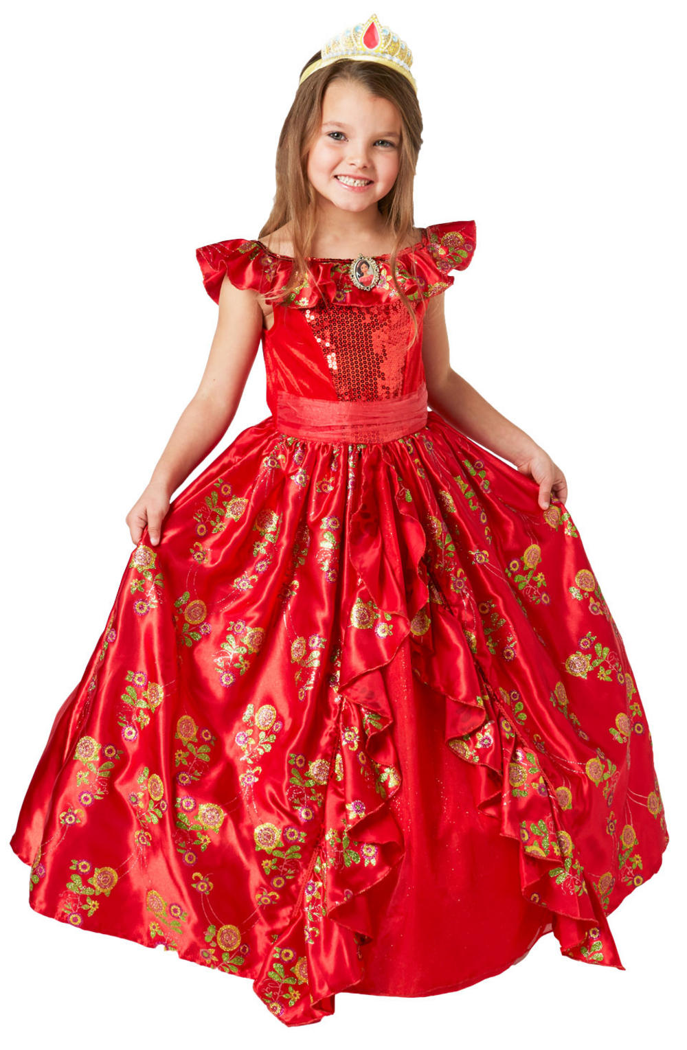 Elena of Avalor Ballgown Girls Costume