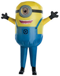 Minion Stuart Inflatable Boys Costume Kids Fancy Dress