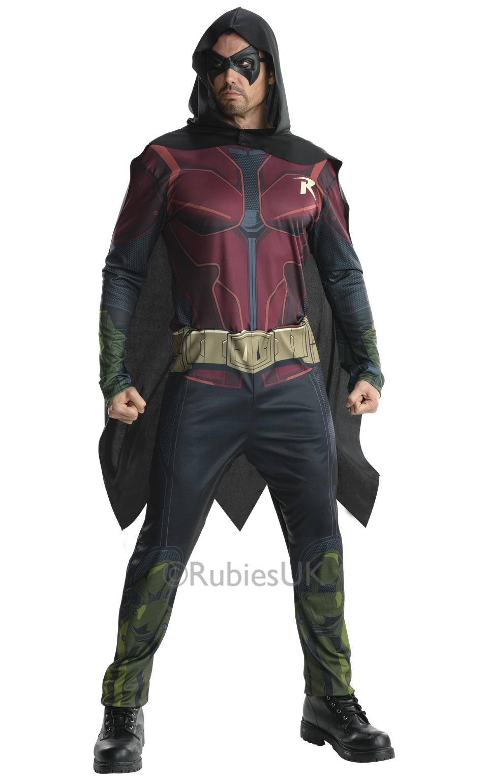 robin mens fancy dress batman arkham city dc superhero