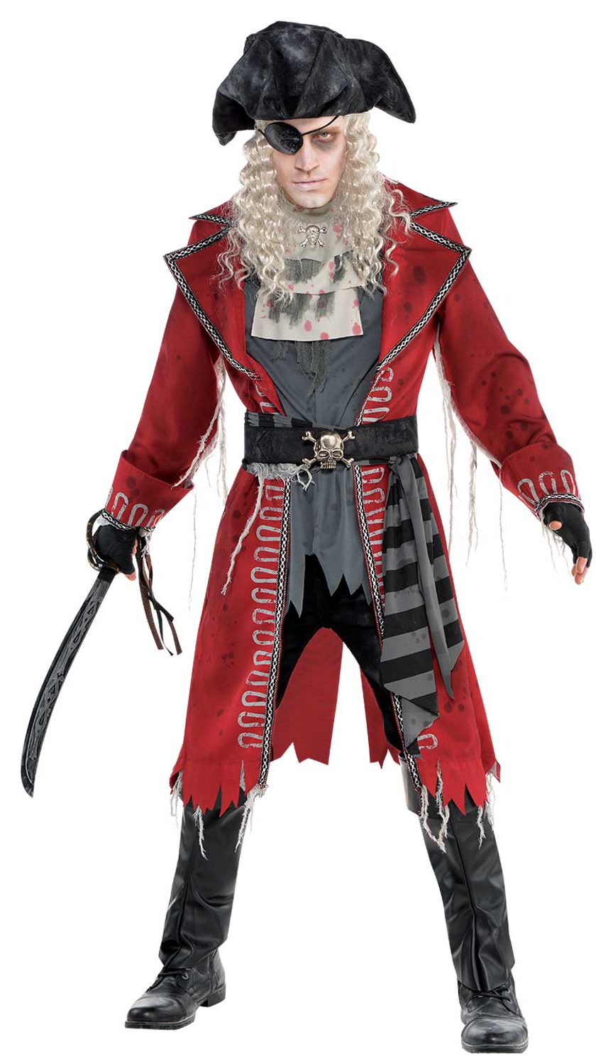 zombie pirate mens costume all ladies halloween costumes. Black Bedroom Furniture Sets. Home Design Ideas