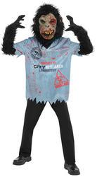Chimp Zombie Boys Costume