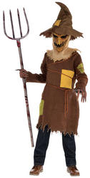 Scary Scarecrow Boys Costume