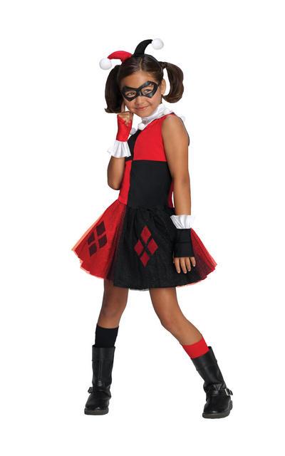 Harley Quinn Girls Tutu Costume