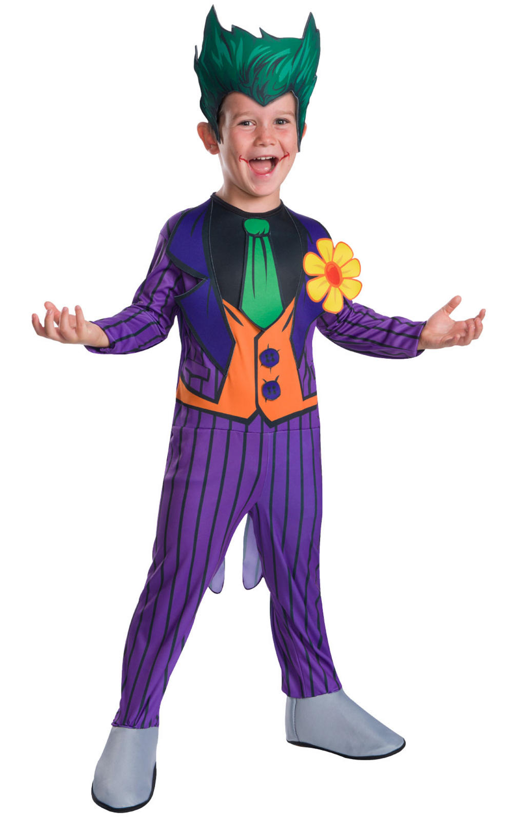 The Joker Classic Boys Costume | Kids Halloween Costumes | Mega Fancy Dress