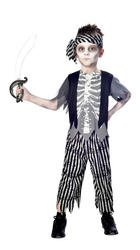 Zombie Pirate Boys Costume