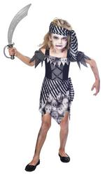 Zombie Pirate Girls Costume