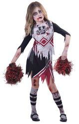 Zombie Cheerleader Girls Fancy Dress
