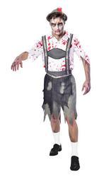 Oktoberfest Zombie Mens Costume