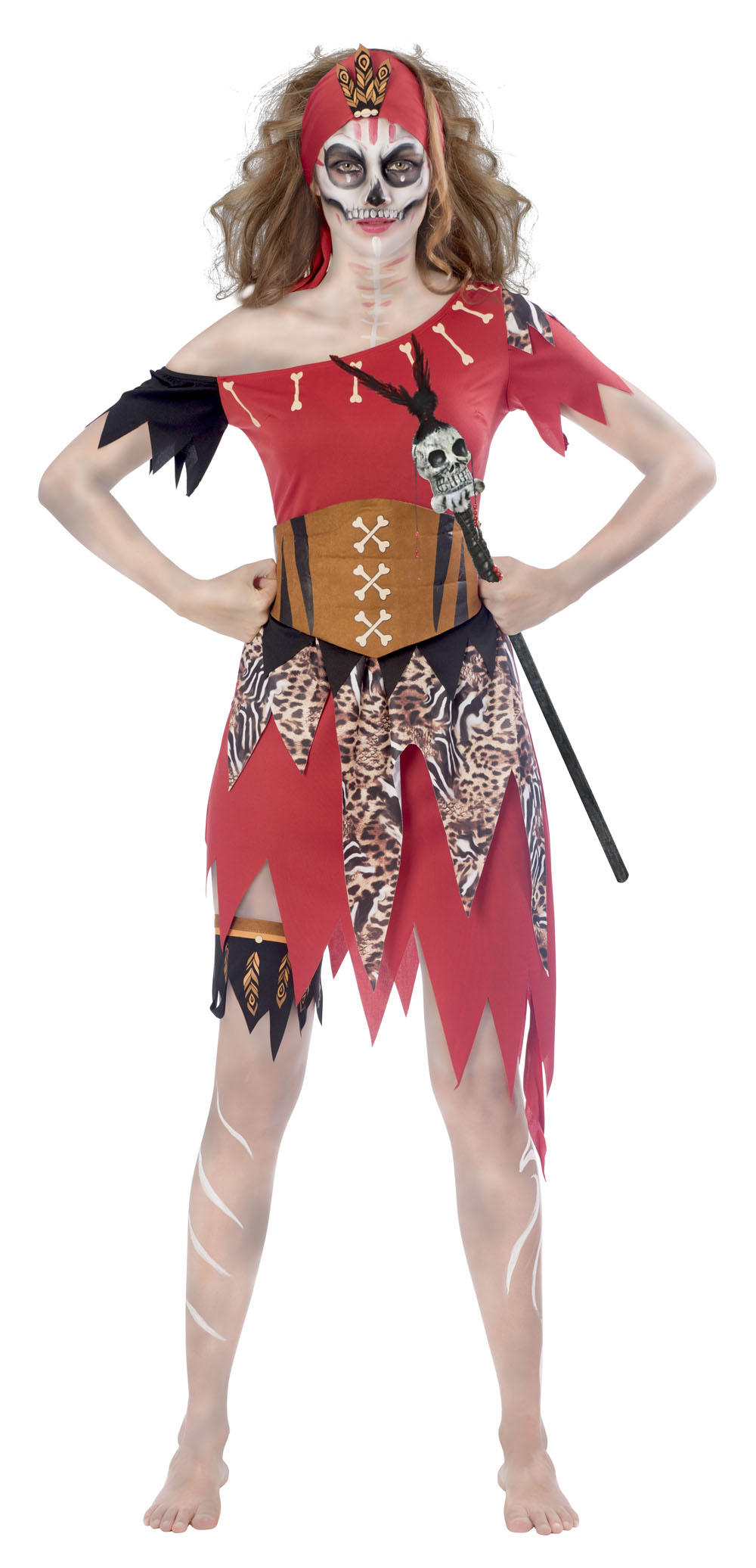 Witch Doctor Ladies Costume