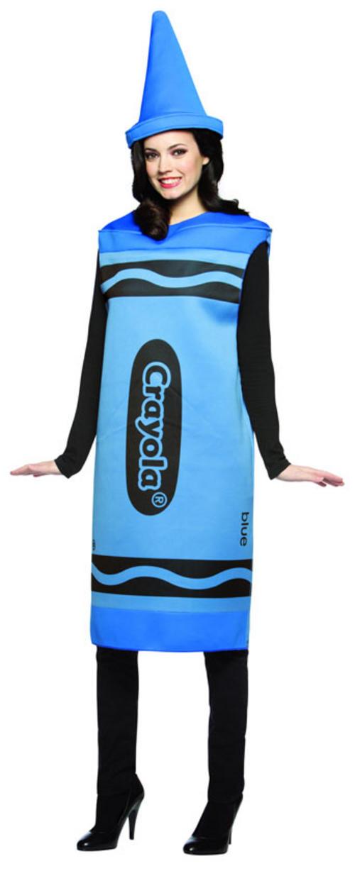 Blue Crayola Crayon Costume