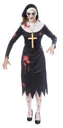 Zombie Nun Ladies Costume