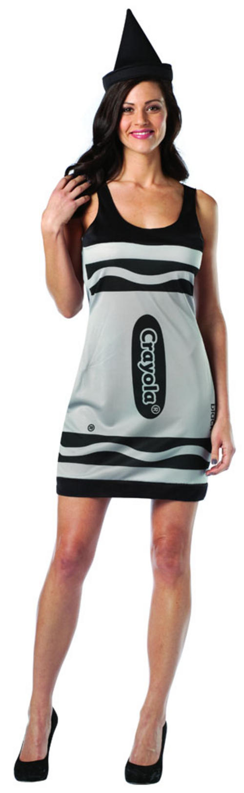 Crayola Black Crayon Dress