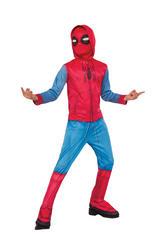 Spiderman Homecoming Boys Fancy Dress Avengers Superhero Film Kids Boys Costume