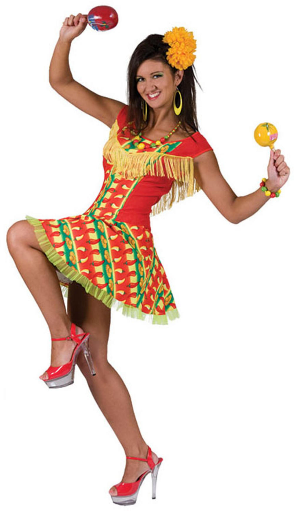 Mexican Hot Chilli Dress