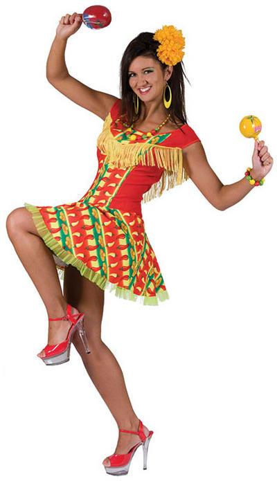 Mexican Hot Chilli Dress