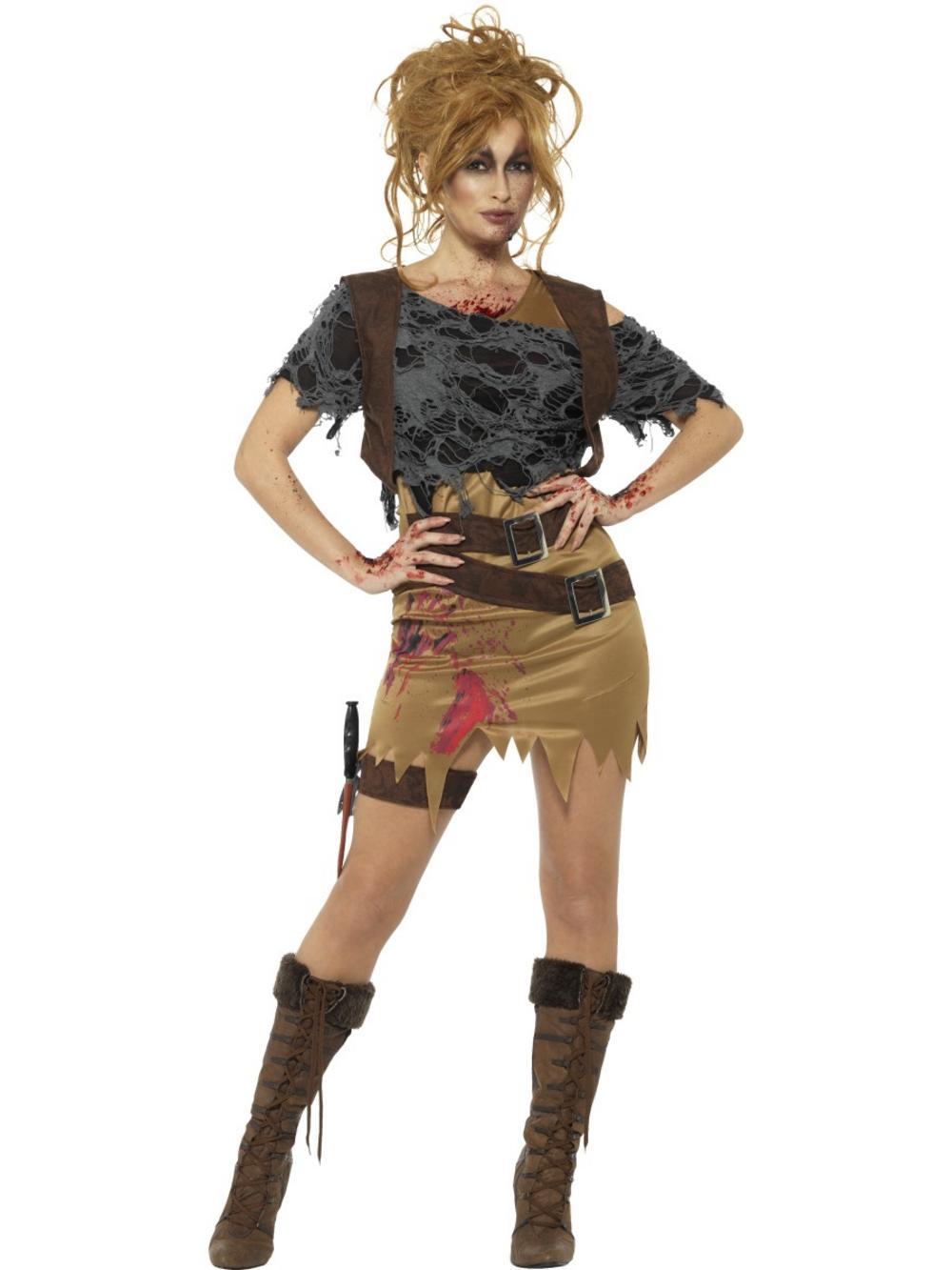 Deluxe Zombie Huntress Costume