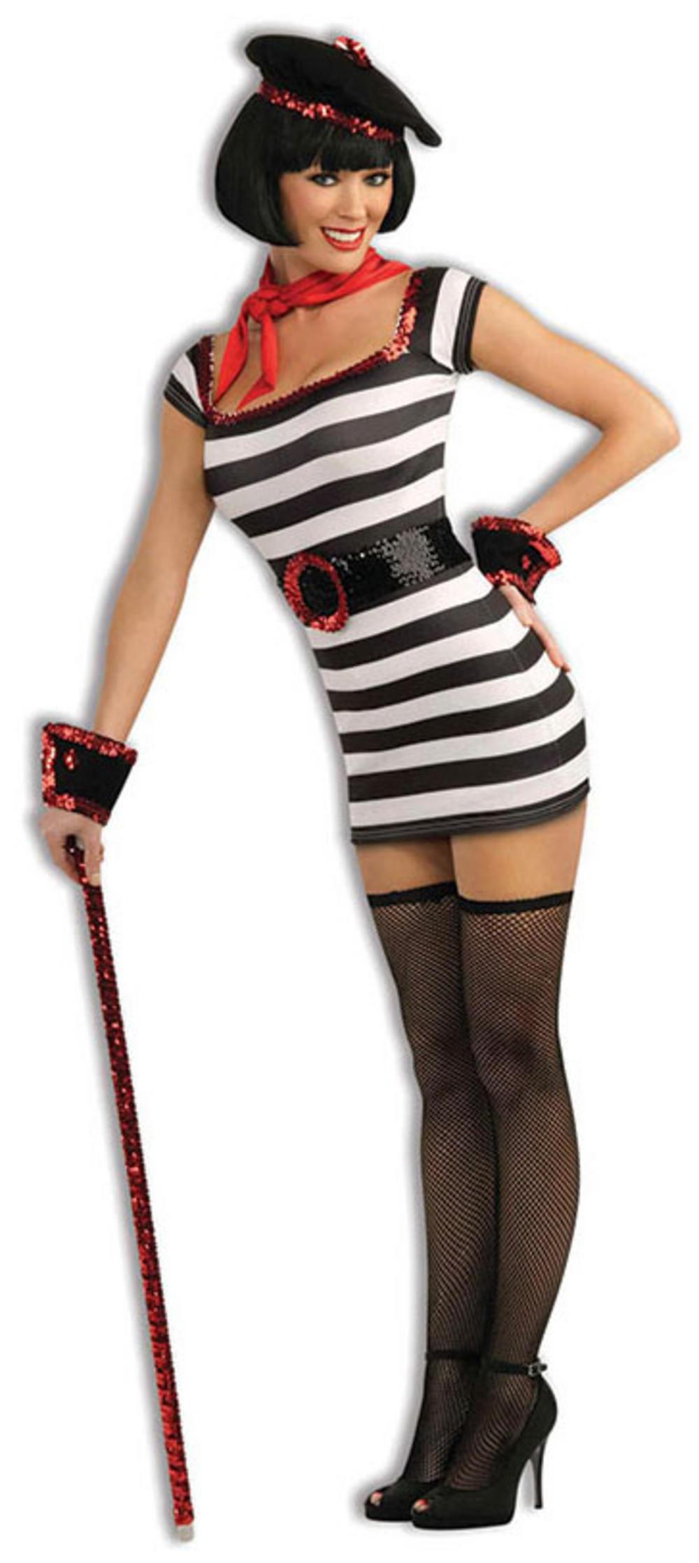 Sexy La Parisienne Girl Costume