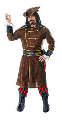 Captain John Longfellow Flashing Pirate Costume