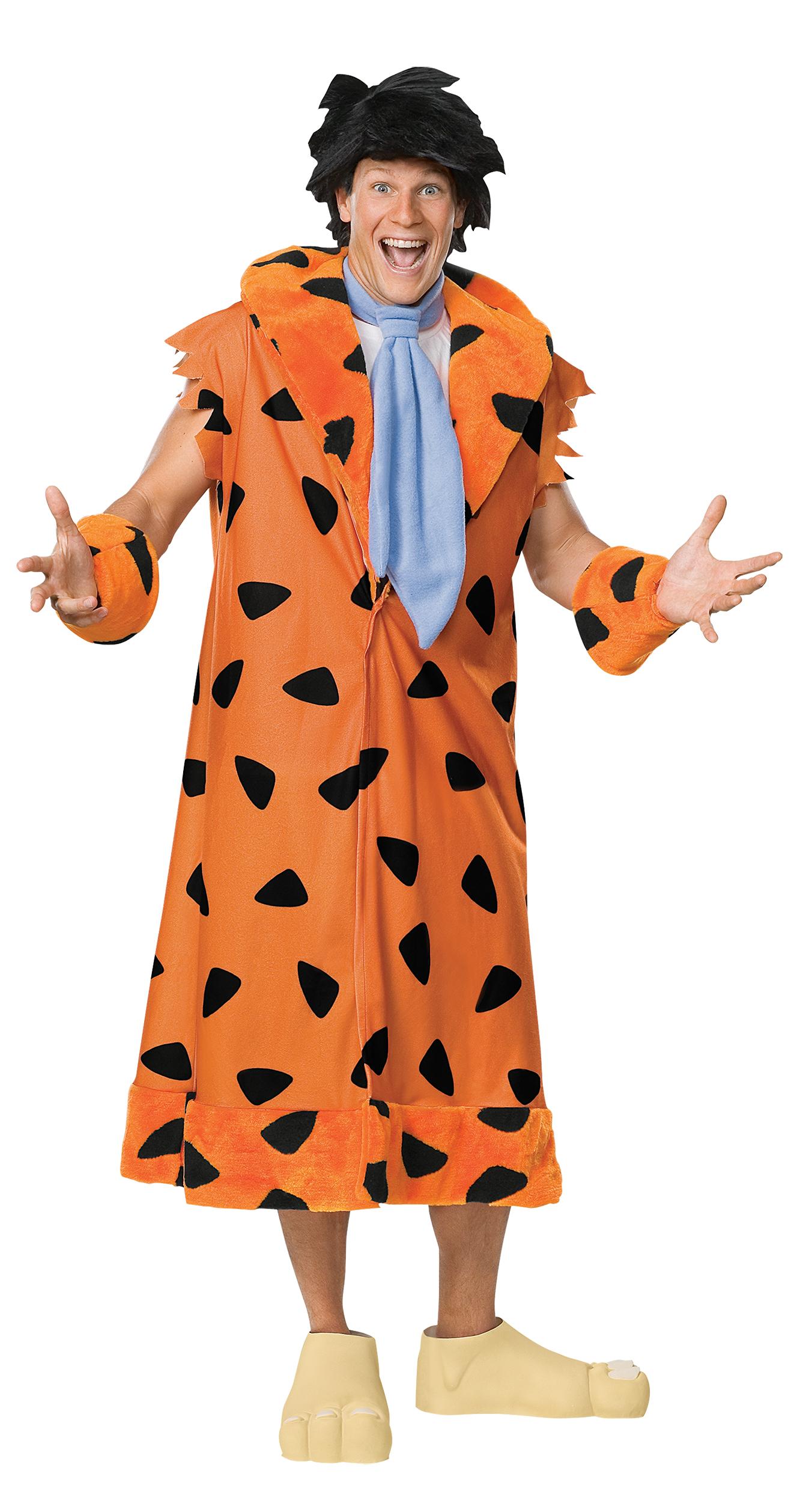 The Flintstones Adults Fancy Dress Cartoon TV Characters Mens Ladies Costumes