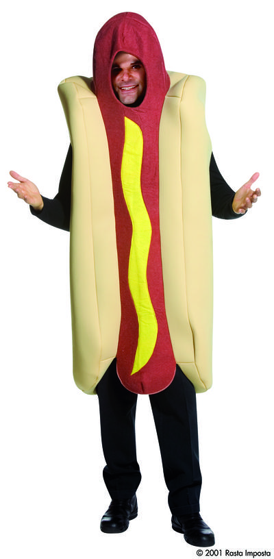 Giant Deluxe Hot Dog Costume