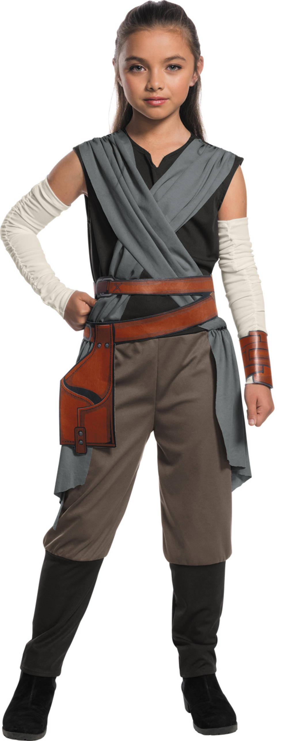 Deluxe Rey Girls The Last Jedi Costume  sc 1 st  Mega Fancy Dress : male princess leia costume  - Germanpascual.Com