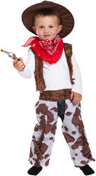 Boy's Toddler Cowboy Costume