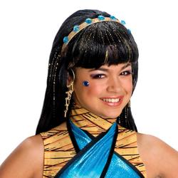 Girls Monster High Cleo De Nile Wig