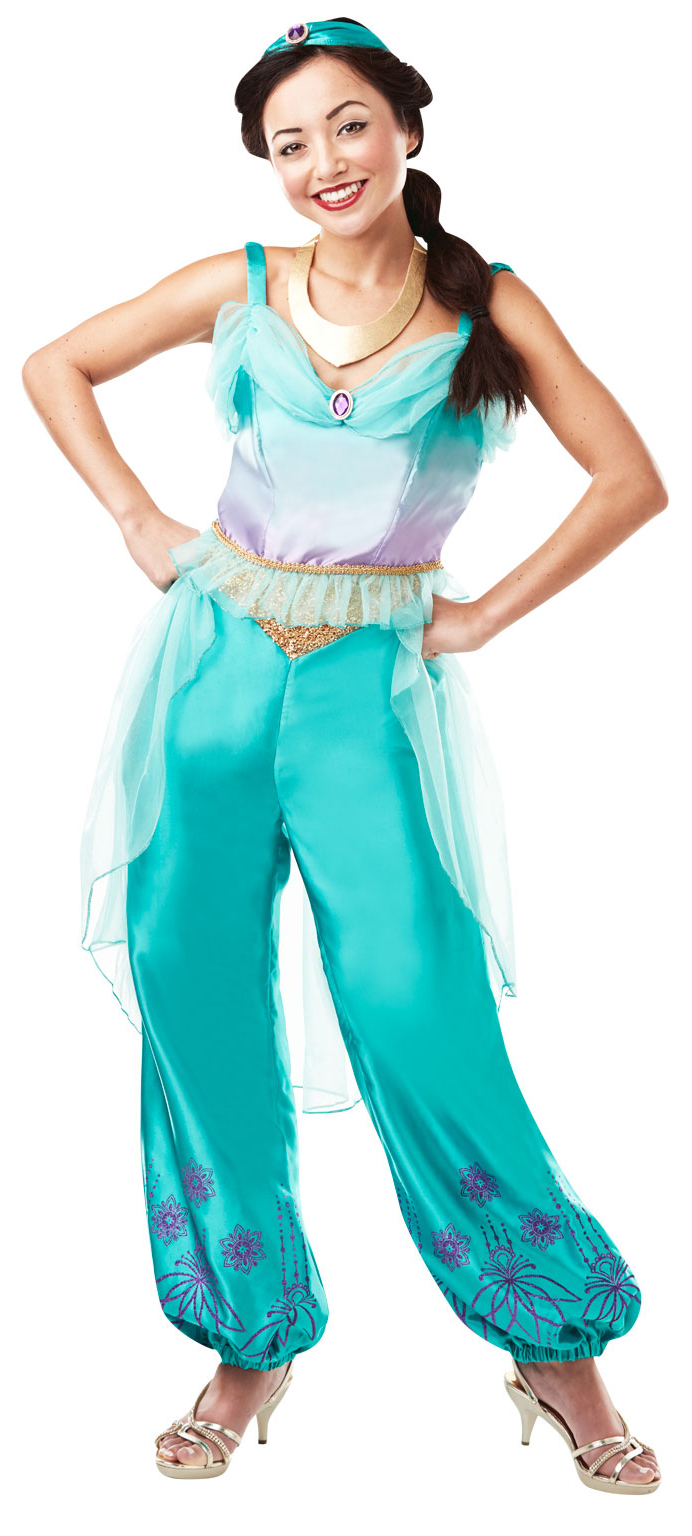 sentinel princess jasmine ladies fancy dress official disney aladdin womens adult costume