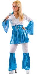 Mama Mia Blue Costume