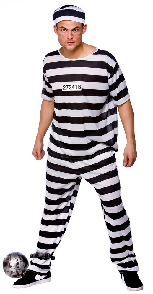 Prison Break Convict Costume  sc 1 st  Mega Fancy Dress & Prison Break Convict Costume | Stag Party Costumes | Mega Fancy Dress
