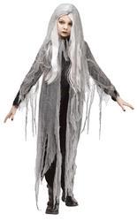 Gauze Ghost Girls Costume