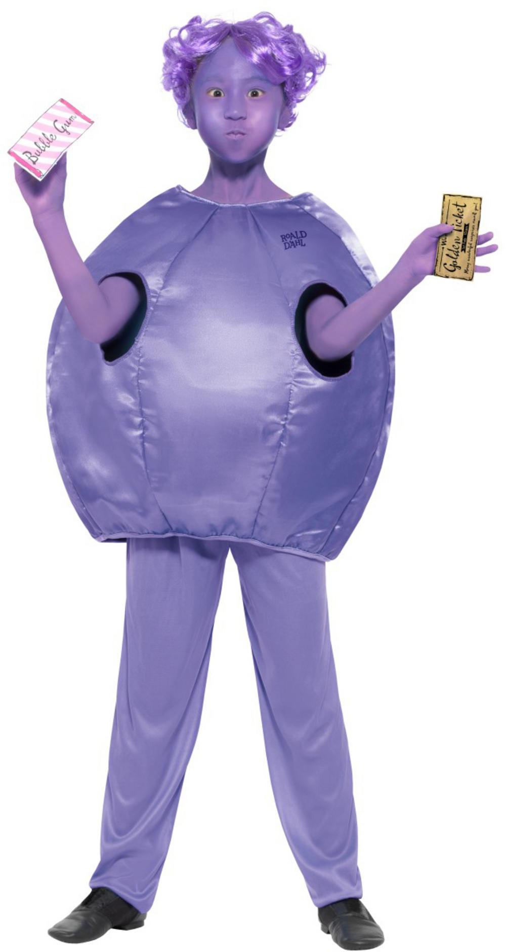 Roald Dahl Violet Beauregarde Girls Costume