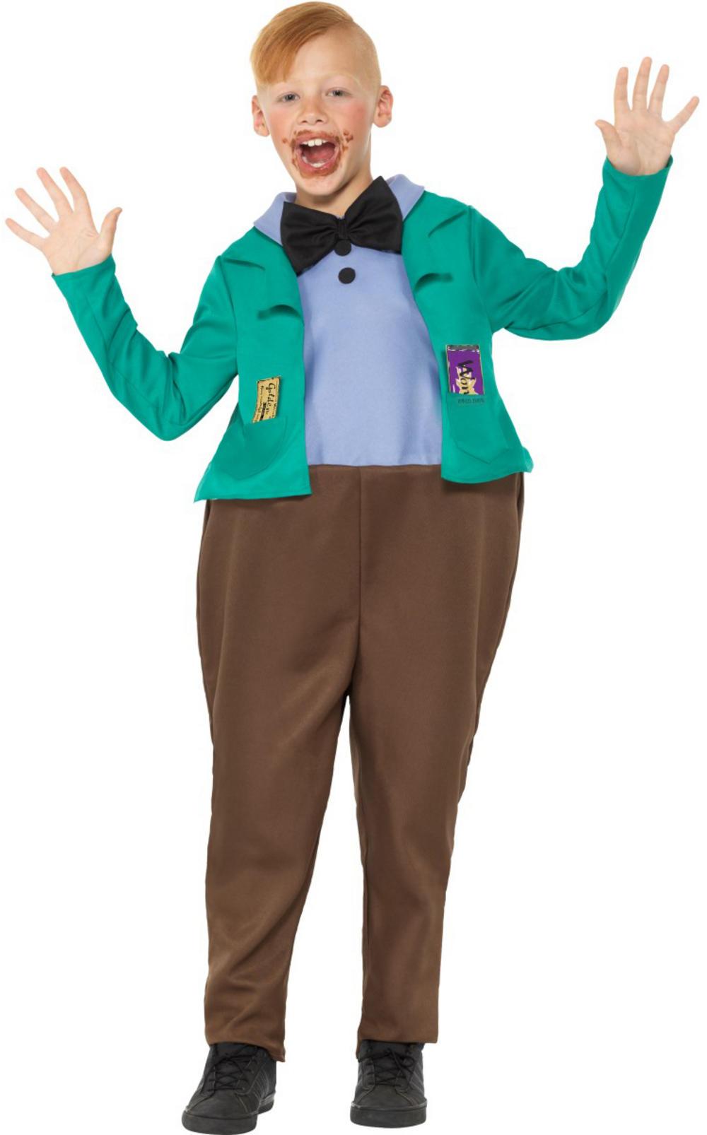 Roald Dahl Augustus Gloop Boys Costume