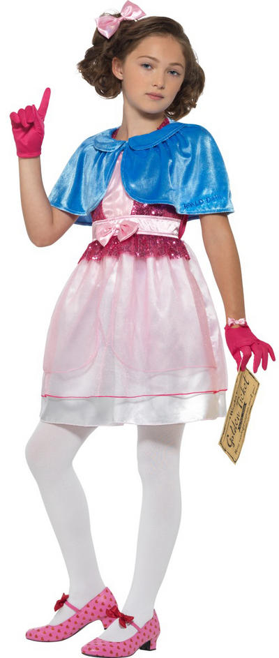 Roald Dahl Veruca Salt Girls Costume