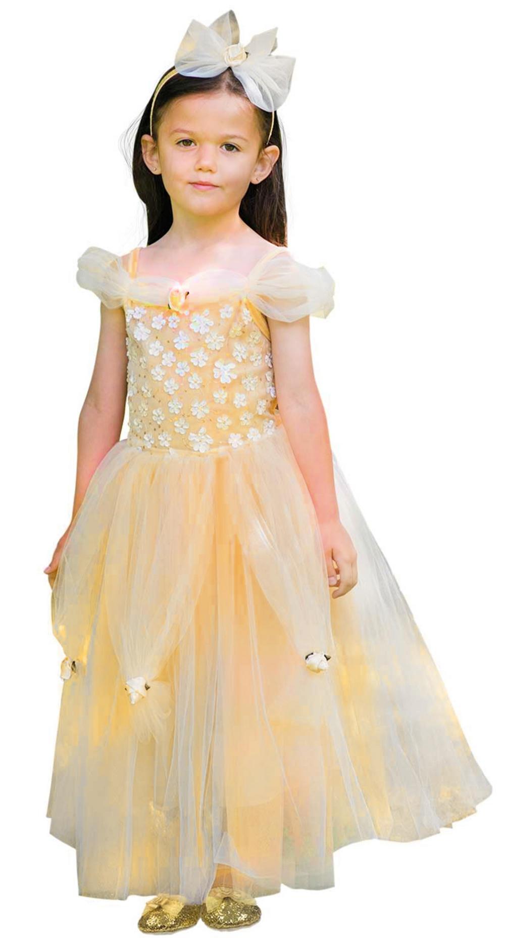 eb90a5d7d Golden Princess Girls Costume