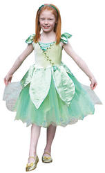 Forest Leaf Fairy Girls Costume