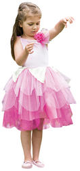 Rose Petal Fairy Girls Costume