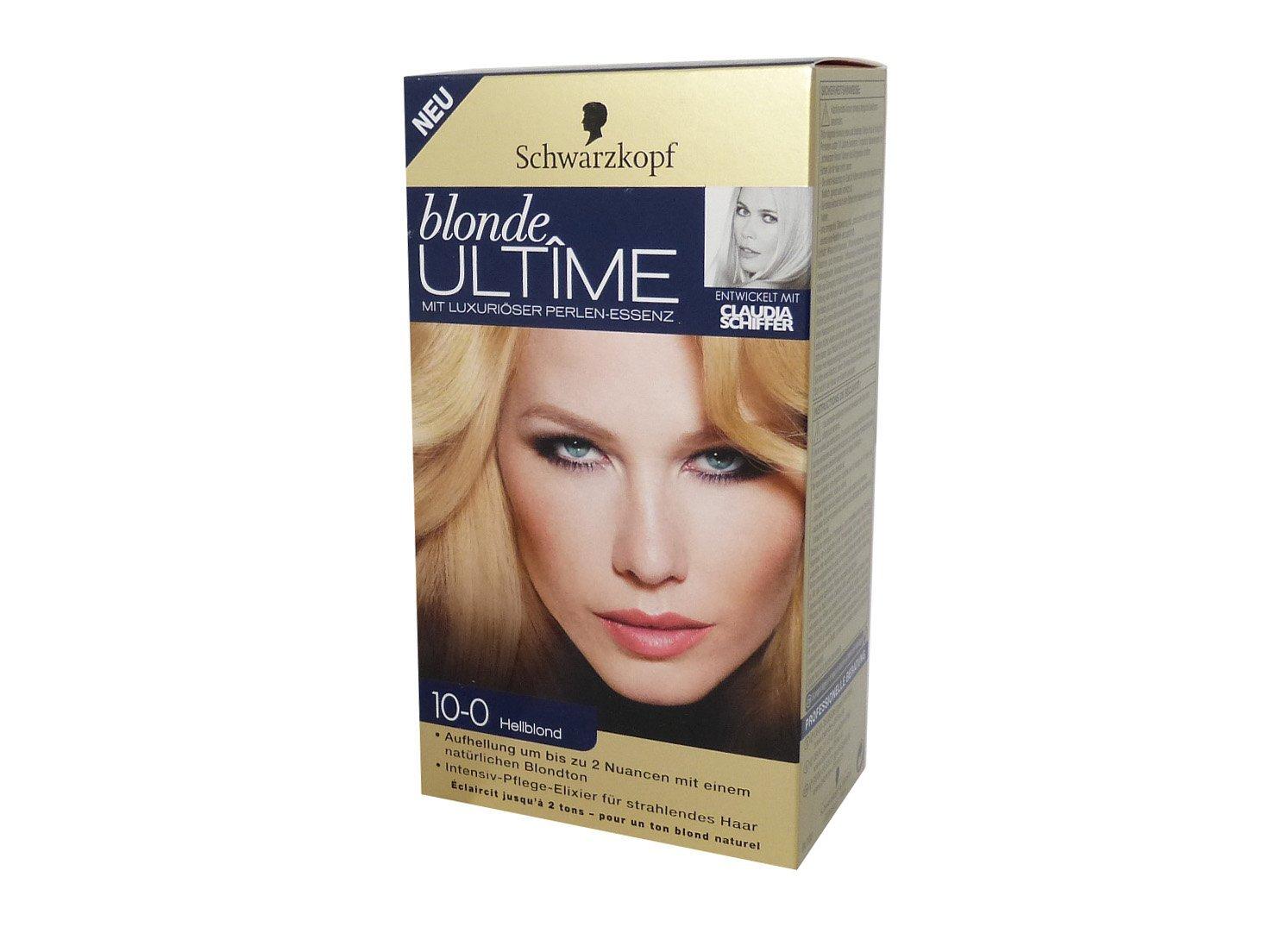 New Schwarzkopf Blonde Ultime 10 0 Light Natural Blonde Womens Hair