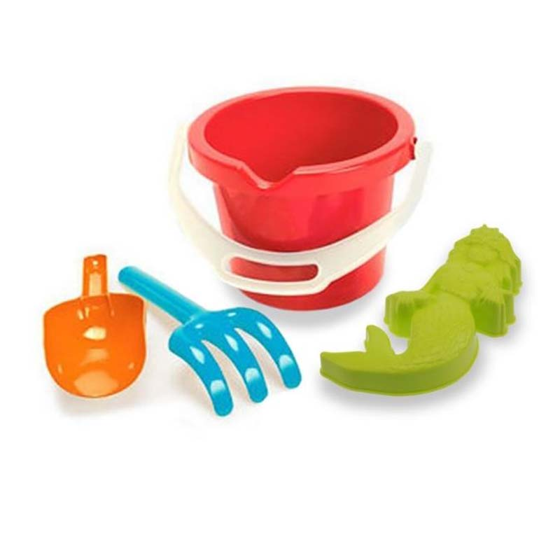 New Early Learning Centre Baby Bucket Set Seahorse Mould Rake Scoop ...
