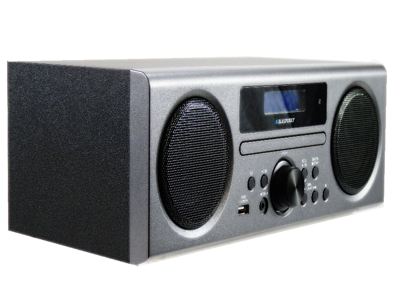 blaupunkt bphf 1r dab radio stereo system grey with. Black Bedroom Furniture Sets. Home Design Ideas