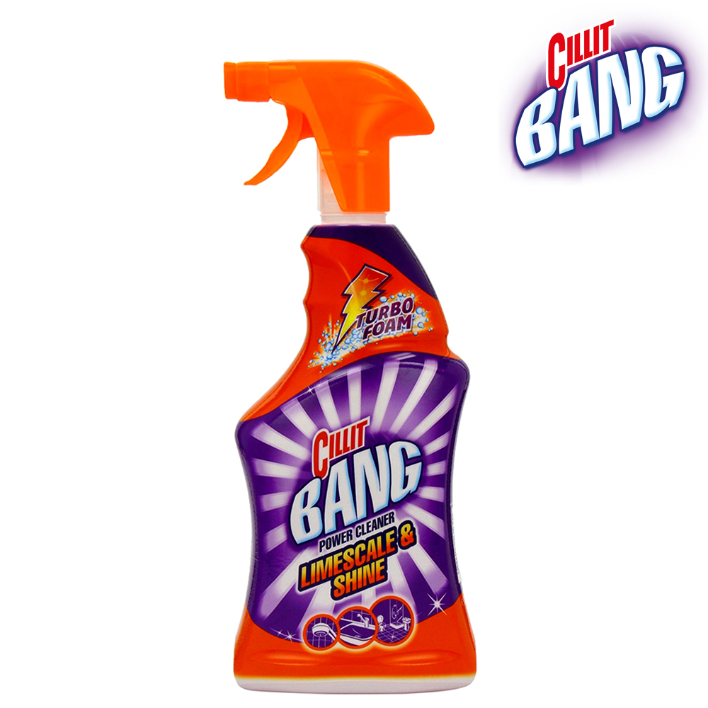 Cillit Bang Limescale Amp Shine Power Spray Cleaner 750ml
