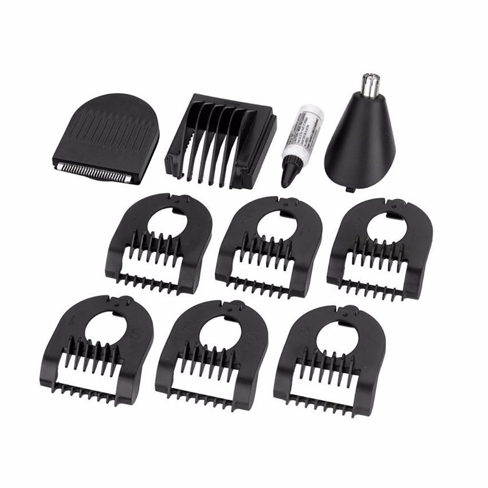 babyliss 7275cu 10 in 1 chrome beard trimmer dual blade lithium for men ebay. Black Bedroom Furniture Sets. Home Design Ideas