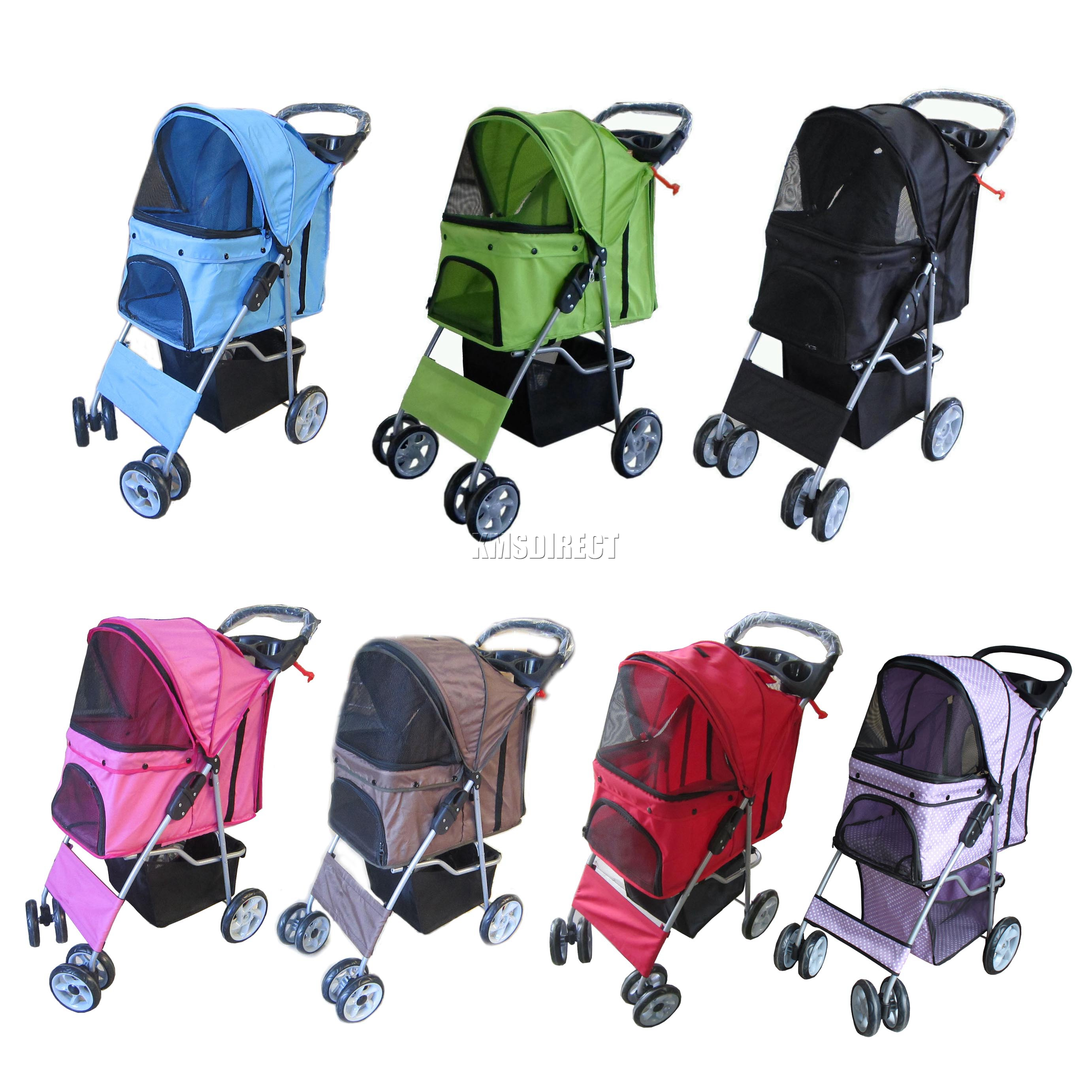 New Dog Puppy Cat Pet Travel Stroller Pushchair Pram