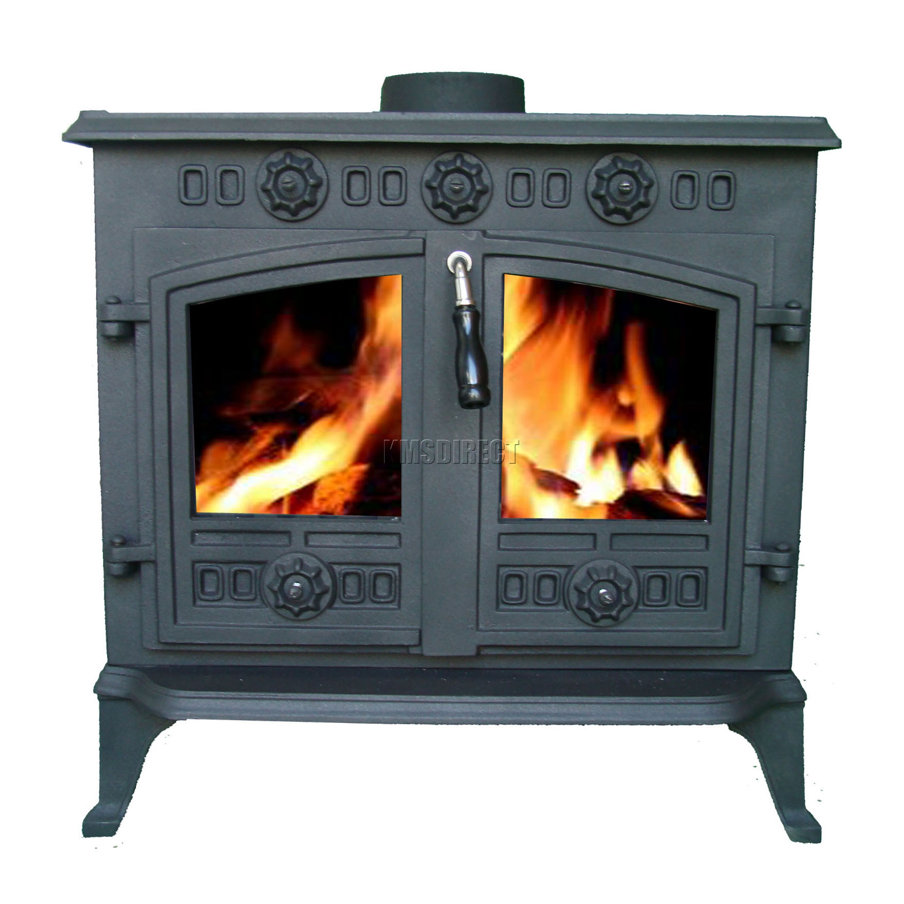 high efficiency wood burning fireplace. Sentinel 12KW JA006 High Efficient Cast Iron Log Burner Multifuel Woodburning Stove New Efficiency Wood Burning Fireplace