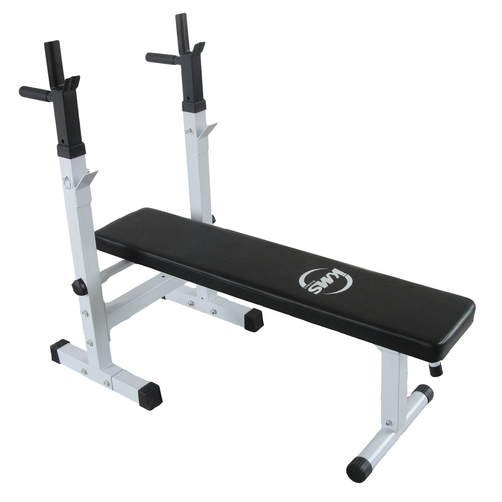 Free Weights On Bench: Heavy Duty Gym Shoulder Chest Press Sit Up Weights Bench