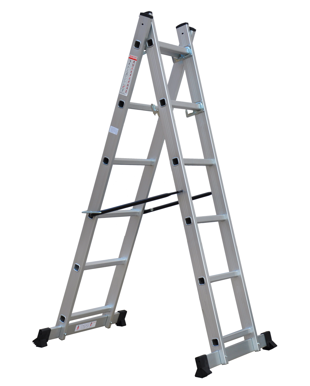 6ft Multi Purpose Step Ladders : New multi purpose diy step ladder aluminium way scaffold